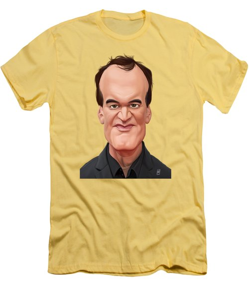 Celebrity Sunday - Quentin Tarantino Men's T-Shirt (Athletic Fit)