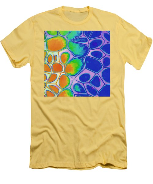 Cell Abstract 2 Men's T-Shirt (Athletic Fit)