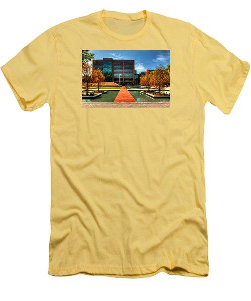 Centurylink Corporate Headquarters Men's T-Shirt (Slim Fit) by Ester  Rogers