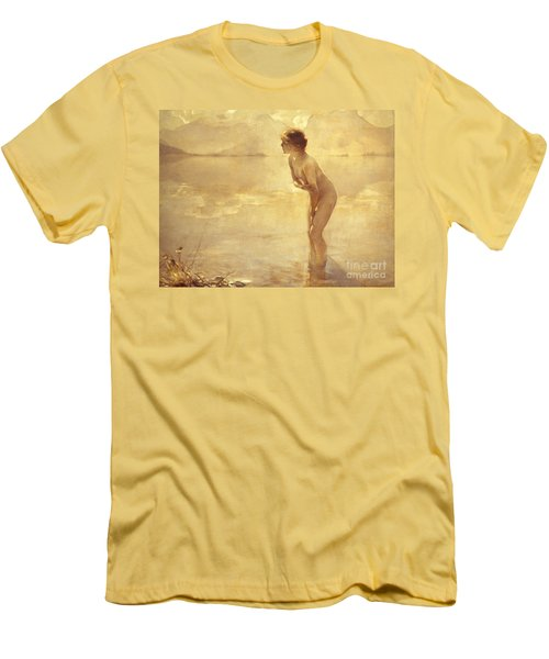 Chabas: September Morn Men's T-Shirt (Athletic Fit)