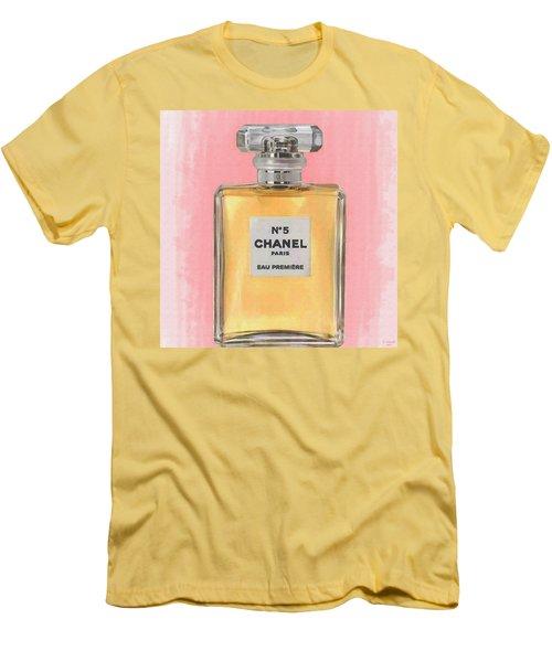 Chanel No 5 Eau De Parfum Men's T-Shirt (Athletic Fit)