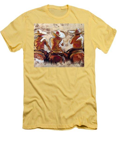 3 . C H A R R O  . F R I E N D S Men's T-Shirt (Athletic Fit)