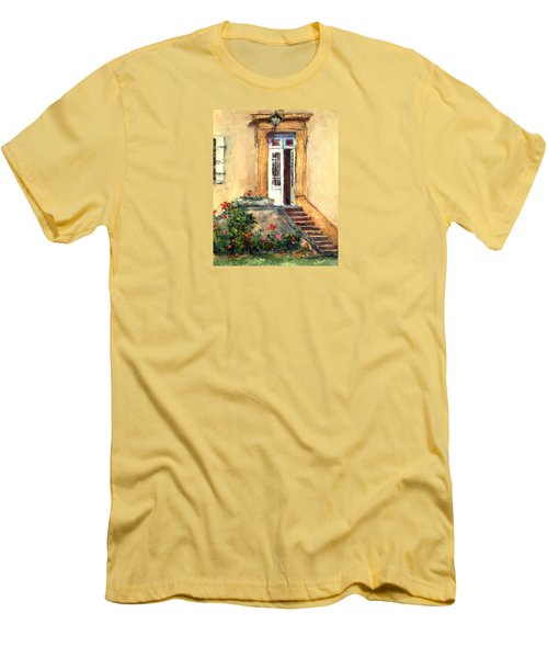 Chateau Le Pinacle Men's T-Shirt (Slim Fit) by Jill Musser