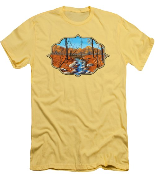 Cheerful Fall Men's T-Shirt (Athletic Fit)
