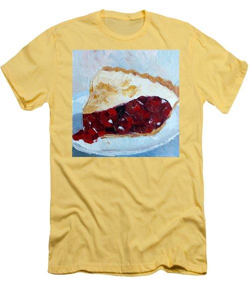 Cherry Pi Men's T-Shirt (Slim Fit) by Susan Woodward