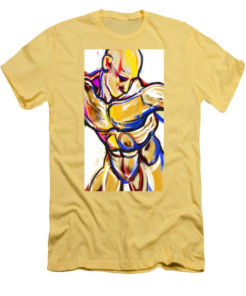 Chest Neck Study 2 Men's T-Shirt (Athletic Fit)