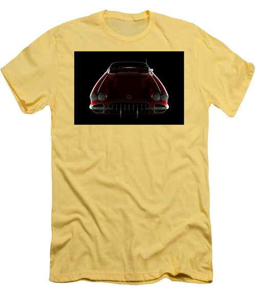 Chevrolet Corvette C1 - Front View Men's T-Shirt (Athletic Fit)