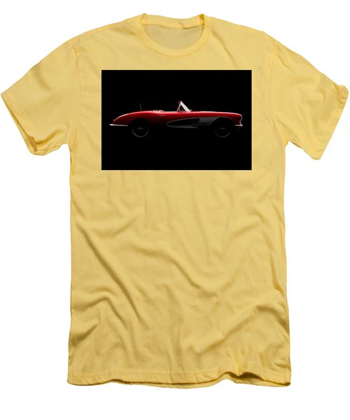 Chevrolet Corvette C1 - Side View Men's T-Shirt (Athletic Fit)