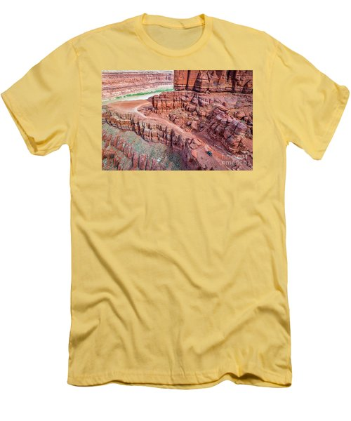 Chicken Corner Trail And Colorado River Men's T-Shirt (Athletic Fit)