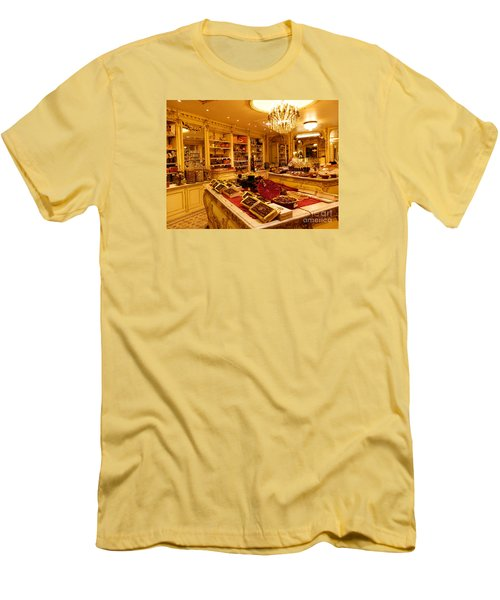 Chocolate Shop Men's T-Shirt (Athletic Fit)