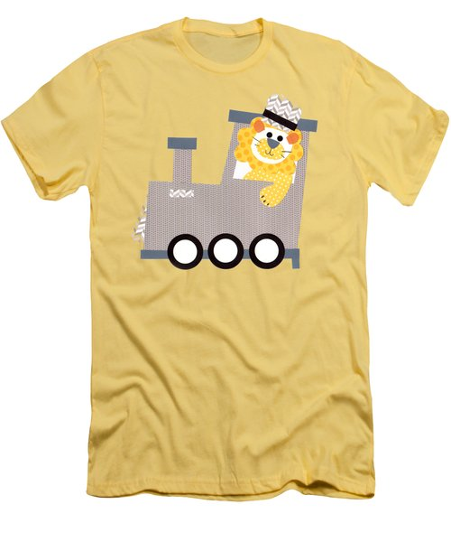 Choo Choo T-shirt Men's T-Shirt (Slim Fit) by Herb Strobino