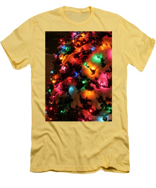 Christmas Lights Coldplay Men's T-Shirt (Athletic Fit)