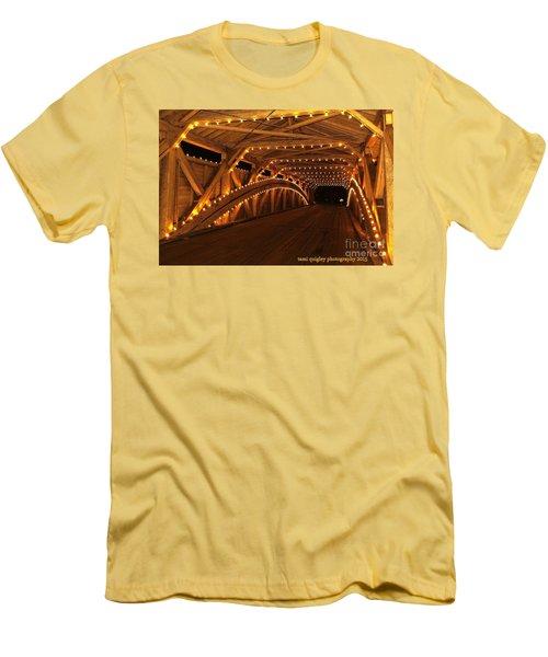Christmas Luminance Men's T-Shirt (Athletic Fit)