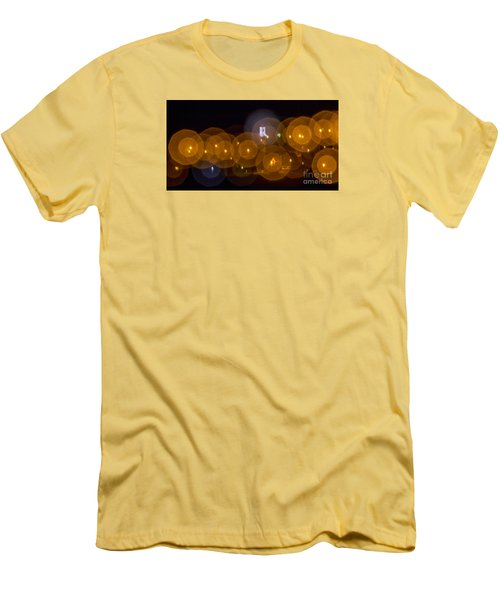 Men's T-Shirt (Slim Fit) featuring the photograph Church With Circle Bokeh by Odon Czintos
