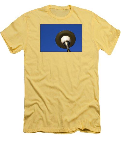 Circle And Blues Men's T-Shirt (Slim Fit) by Prakash Ghai
