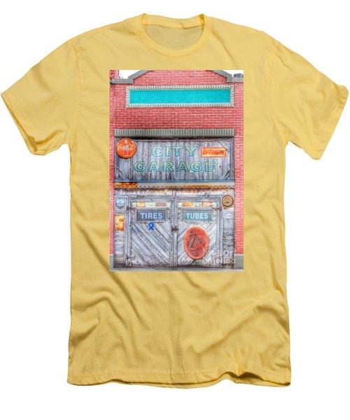 City Garage Men's T-Shirt (Athletic Fit)