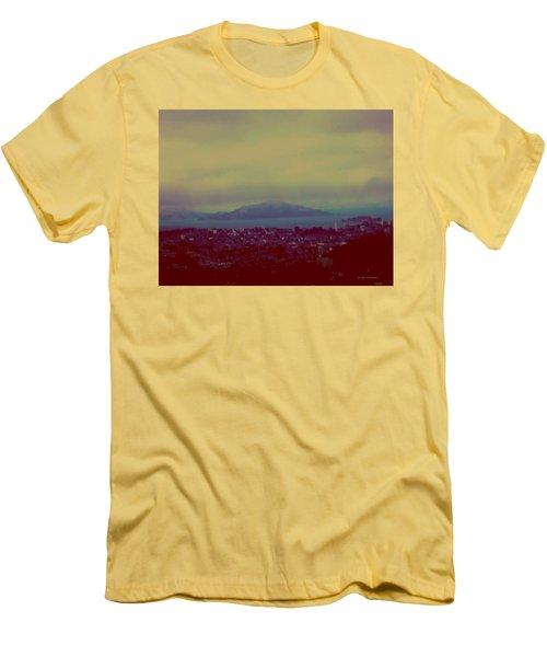 Men's T-Shirt (Slim Fit) featuring the digital art City Of Dream by Dr Loifer Vladimir
