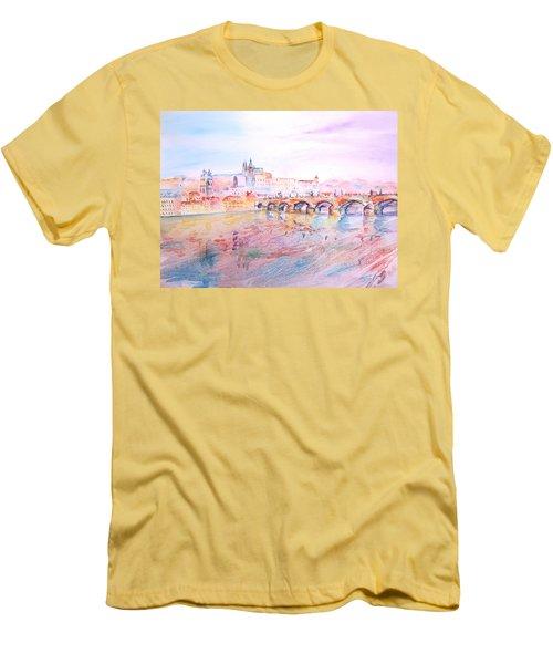 City Of Prague Men's T-Shirt (Athletic Fit)