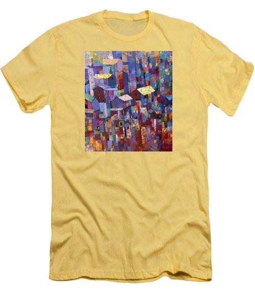 City Scape 1 Men's T-Shirt (Slim Fit) by Ronex Ahimbisibwe