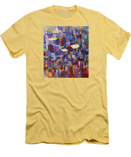 City Scape 1 Men's T-Shirt (Athletic Fit)
