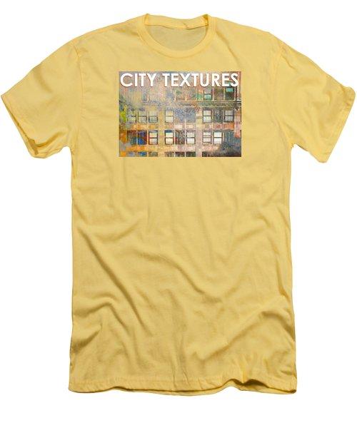 City Textures Windows Men's T-Shirt (Athletic Fit)