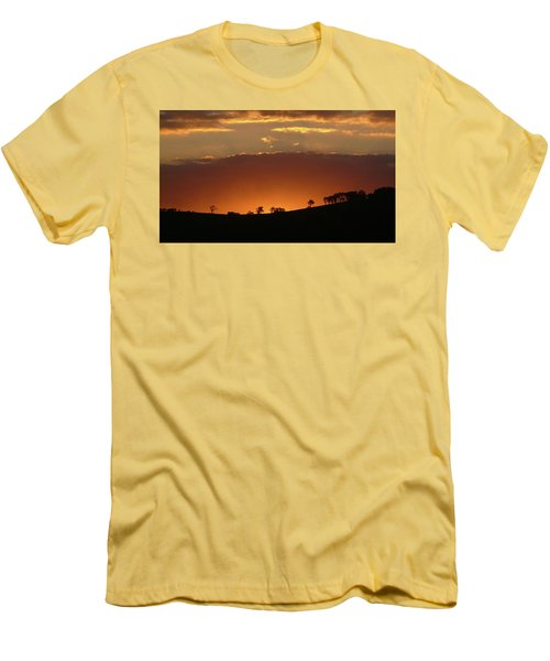 Clarkes Road II Men's T-Shirt (Slim Fit) by Evelyn Tambour