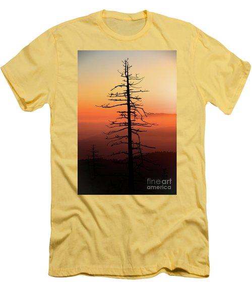 Men's T-Shirt (Slim Fit) featuring the photograph Clingman's Dome Sunrise by Douglas Stucky