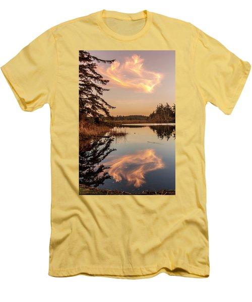 Cloud On Cranberry Lake Men's T-Shirt (Athletic Fit)