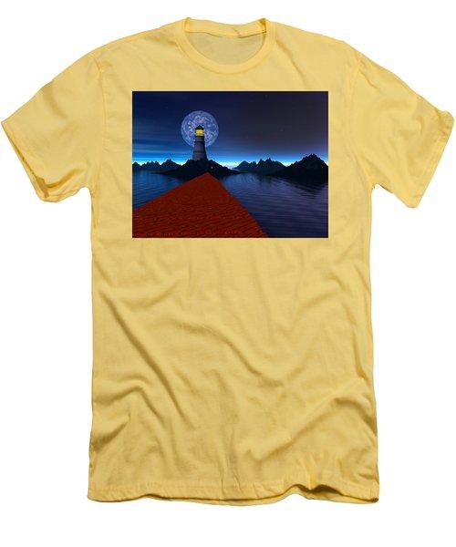 Coast Men's T-Shirt (Slim Fit) by Mark Blauhoefer