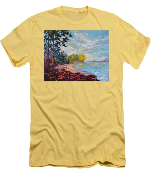 Coastal View Men's T-Shirt (Athletic Fit)
