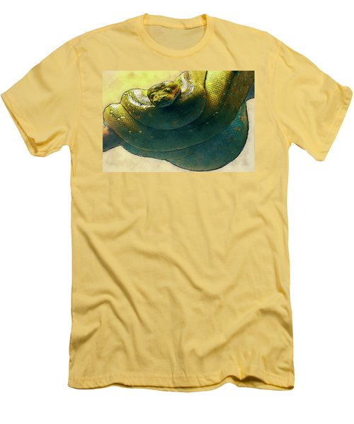 Coiled Men's T-Shirt (Athletic Fit)