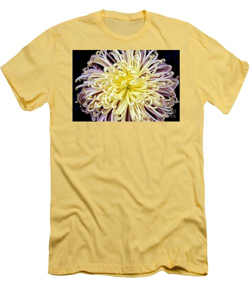 Colorful Spider Chrysanthemum   Men's T-Shirt (Athletic Fit)