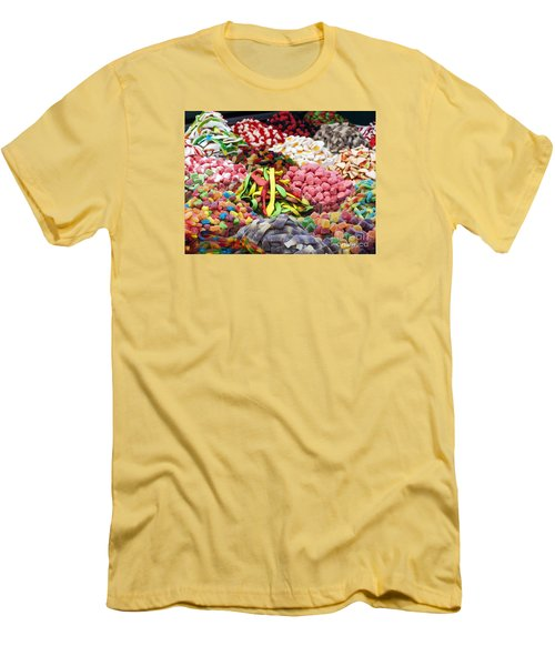 Men's T-Shirt (Slim Fit) featuring the photograph Colors And Sweet by Arik Baltinester