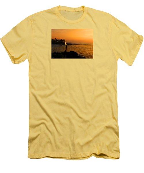 Colors Of Waikoloa Hawaii Men's T-Shirt (Slim Fit) by Kerri Ligatich