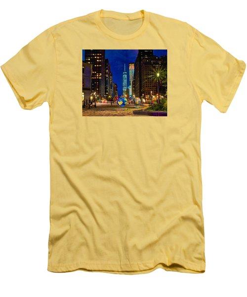 Cool Globes Men's T-Shirt (Athletic Fit)