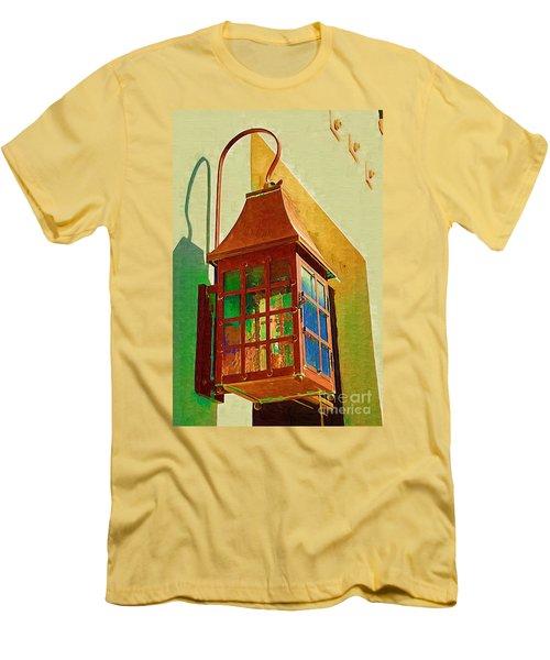 Copper Lantern Men's T-Shirt (Athletic Fit)