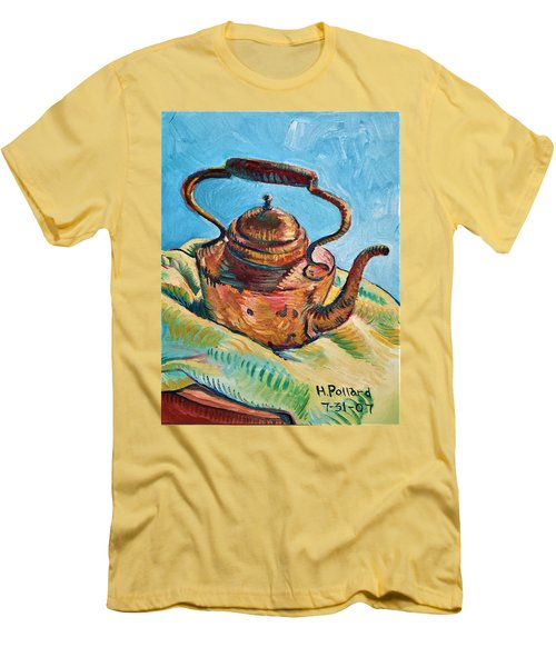 Copper Teapot Men's T-Shirt (Athletic Fit)