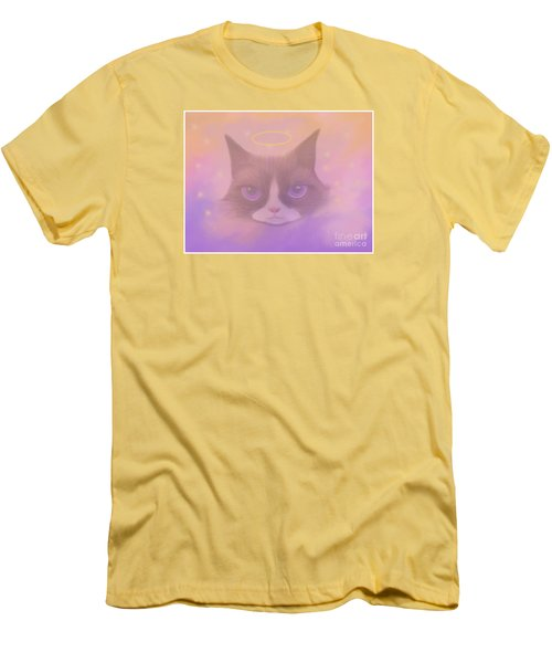 Cosmic Cat Men's T-Shirt (Athletic Fit)