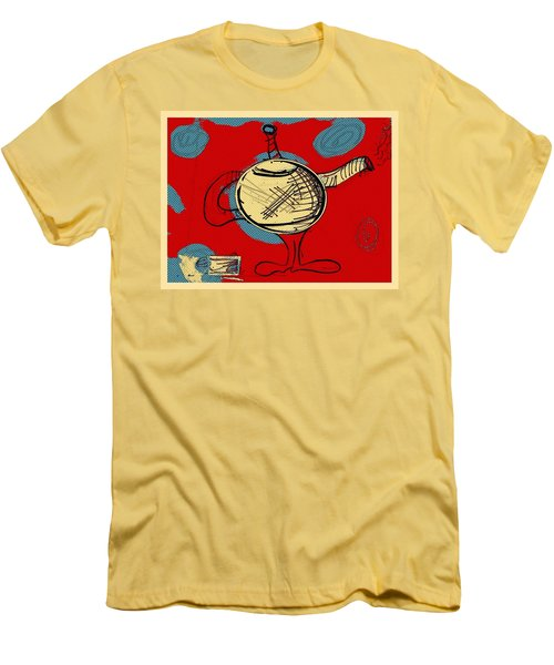 Cosmic Tea Time Men's T-Shirt (Athletic Fit)