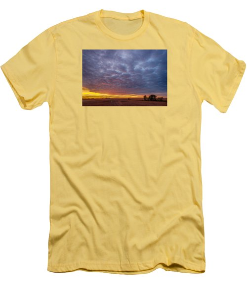 Men's T-Shirt (Slim Fit) featuring the photograph Country Living by Sebastian Musial