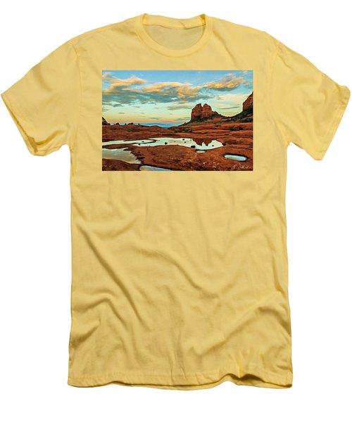Cowpie 07-059 Men's T-Shirt (Slim Fit) by Scott McAllister