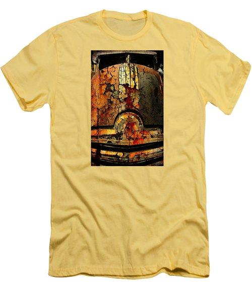 Cracked Pontiac Men's T-Shirt (Slim Fit) by Greg Sharpe