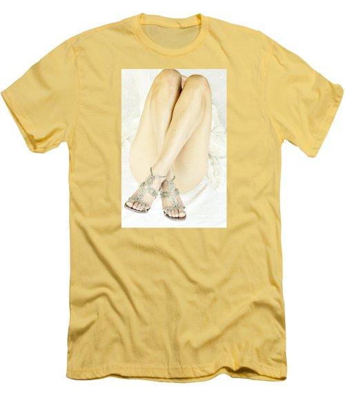 Crossed Men's T-Shirt (Slim Fit) by Marat Essex