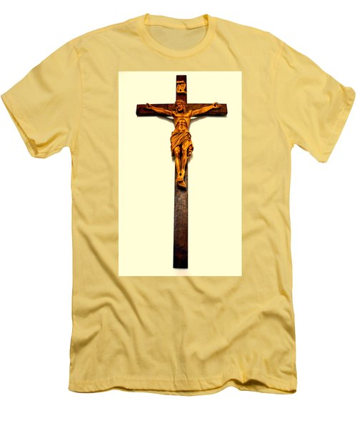 Crucifix Men's T-Shirt (Athletic Fit)