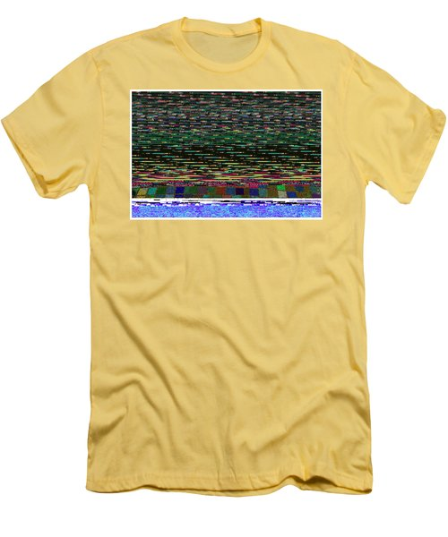 Crystal Balls And The Glitch For The Ditch Men's T-Shirt (Athletic Fit)