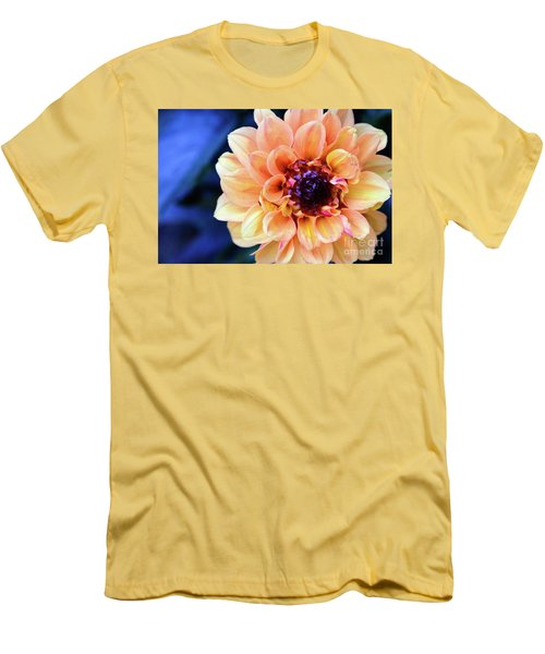 Dahlia Beauty Men's T-Shirt (Slim Fit) by Debby Pueschel