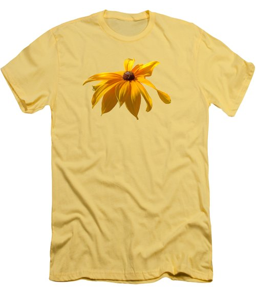 Daisy - Flower - Transparent Men's T-Shirt (Athletic Fit)