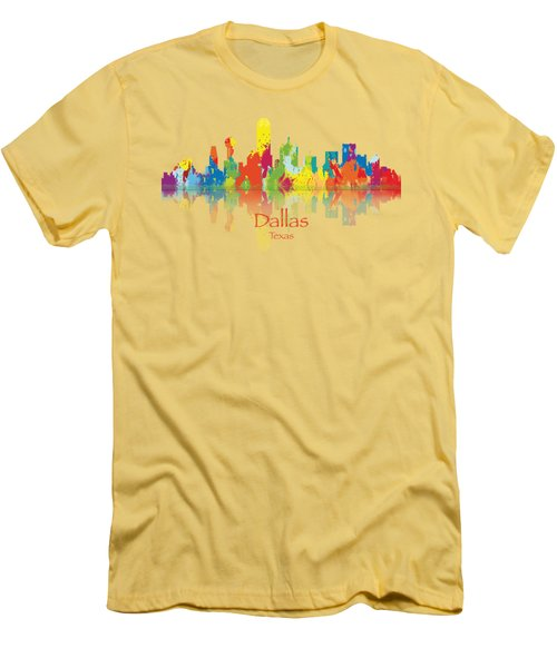Dallas Texas Tshirts And Accessories Art Men's T-Shirt (Athletic Fit)
