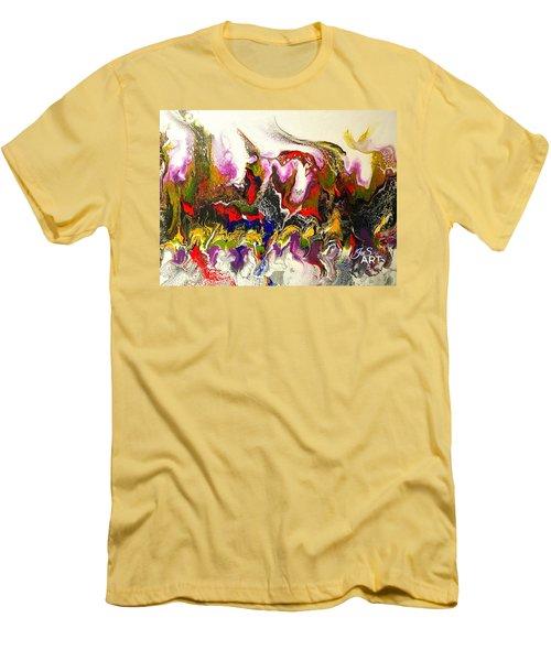 Dance Of Flames Men's T-Shirt (Athletic Fit)