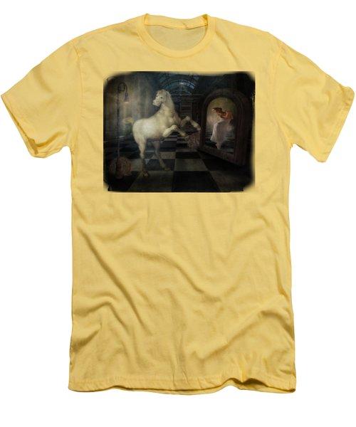 Dance Pony Dance Men's T-Shirt (Athletic Fit)